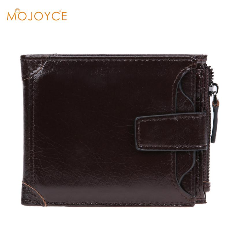 Men Wallets Short Vintage Designer Carteiras Masculinas PU Leather Men Short Wallet Purse Card Holder Coin Pocket Male Wallets