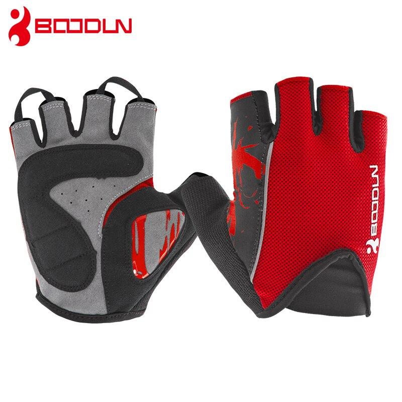 Mesh Weight Lifting Gloves: Boodun Mesh Cycling Gloves Half Finger Sports Gym Gloves