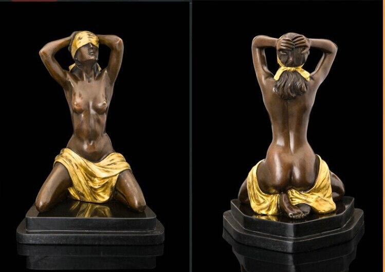 Spedizione Bella Decorazione di Arte Astratta Figura Statua di Bronzo veloceSpedizione Bella Decorazione di Arte Astratta Figura Statua di Bronzo veloce