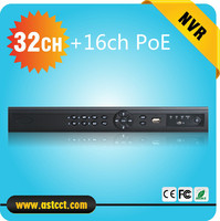 Wykrywanie twarzy Full HD CCTV 16ch NVR 32CH NVR wih POE 5MP dla IP Kamera HDMI Network Video Recorder 32 Kanałowy REJESTRATOR NVR z 16 CH POE