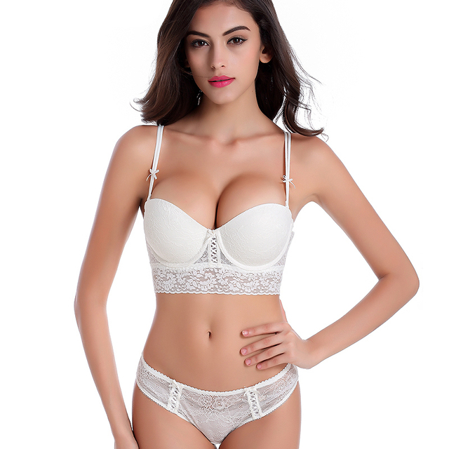 Luxury Lace Push Up Bra Set