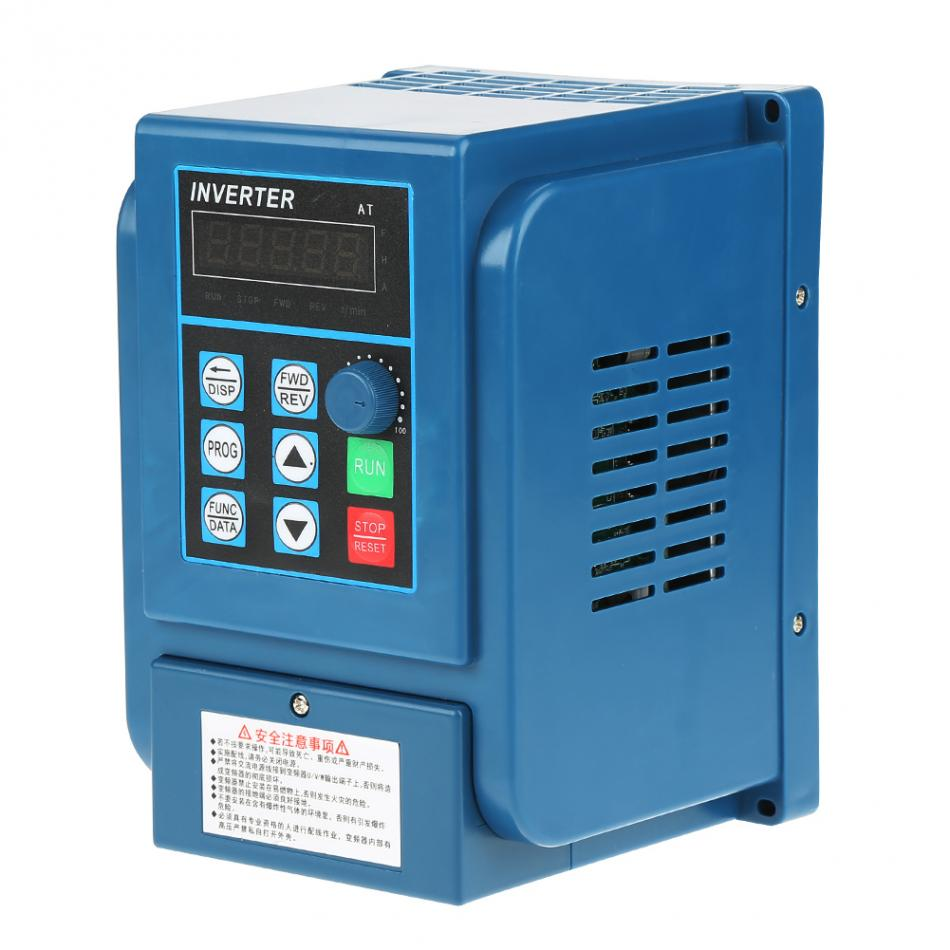 цена на AC 380V 6A Variable Frequency Inverter Drive VFD Speed Controller Converters for 3-phase 2.2kW AC Motor