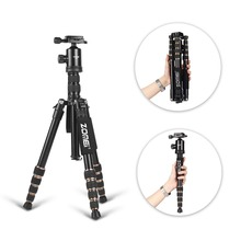 Zomei Z699 Professional Photographic Travel Compact Aluminum Magnesium alloy Tripod Monopod Ball Head for Digital DSLR
