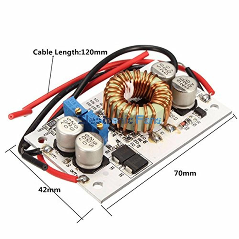 250w Dc Boost Converter Adjustable 10a Step Up Constant Current Power Supply Module Led Driver For Arduino In Integrated Circuits From Electronic