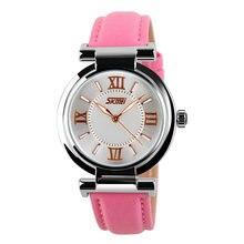 2020 skmei лучшие Брендовые повседневные женские кварцевые часы