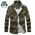 AFS JEEP Falow Long Sleeve Men's Camouflage Brand Shirt For Man.2016 Spring 100% Cotton Military Cargo Full Sleeve Shirt Man