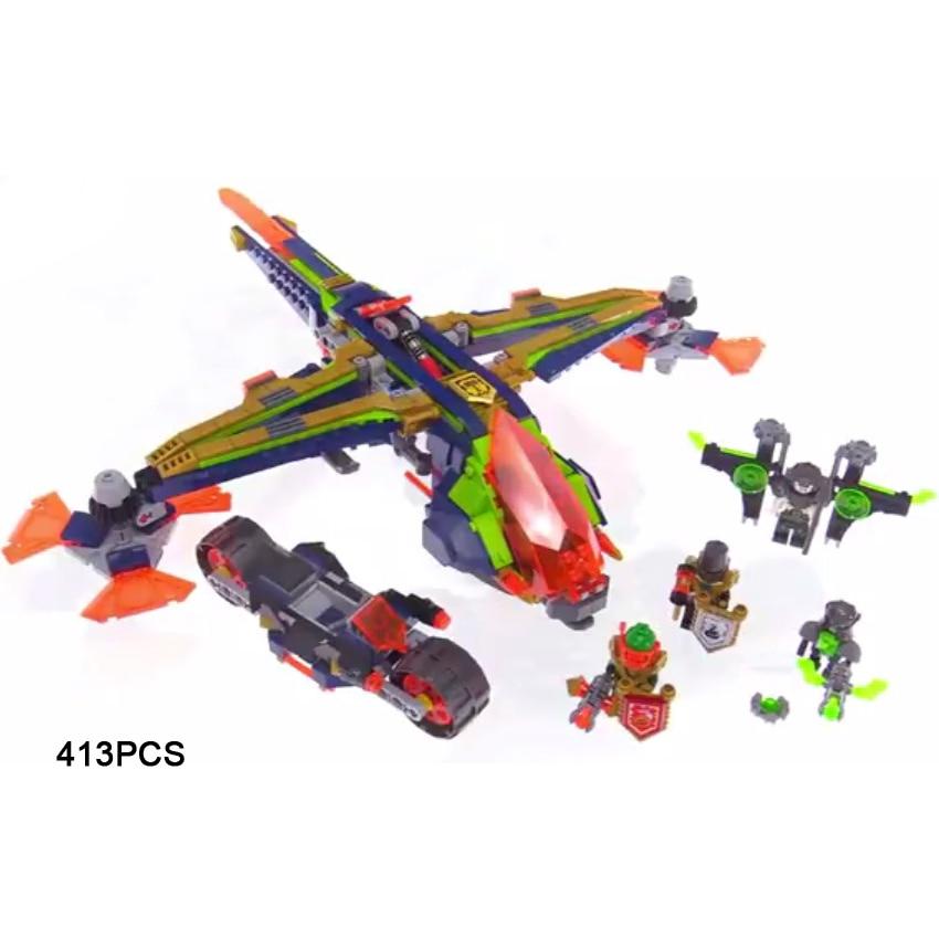 2018 nexus next cavalier knights aaron x-bow building block robin Vampire figures fighter motorcycle bricks 72005 toys for gifts