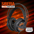 Steelseries Siberia v3 Prism Gaming Headset, Illumination & Customization With Engine 3, with retractable microphone, Brand new.