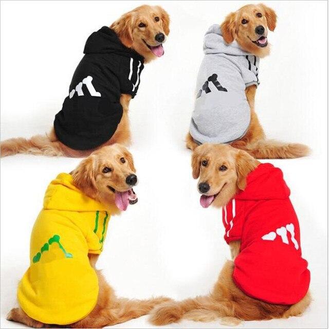 2019 NUOVO grande Vestiti del cane Da Compagnia Costume Con Cappuccio di sport d