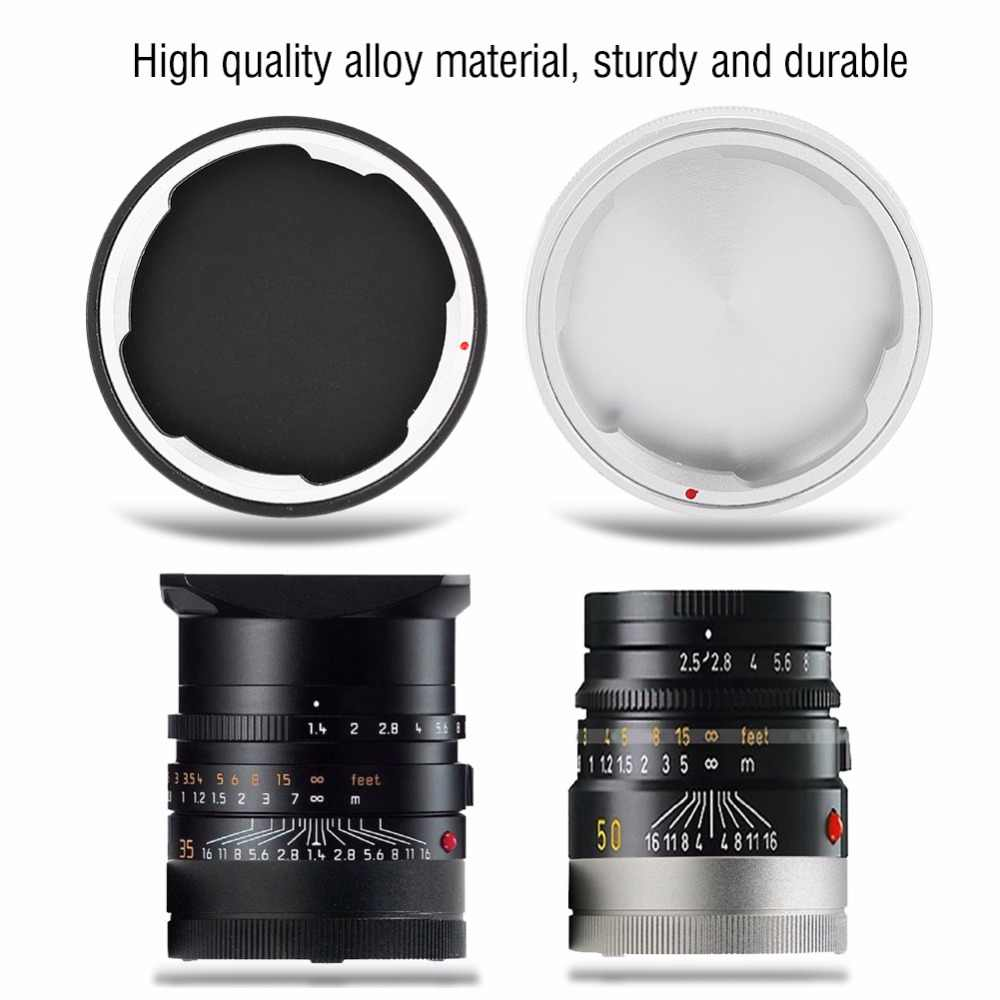 Metal Rear Lens Cap for LEICA M Mount Camera Lenses for protecting digital camera camcorder lens for leica m