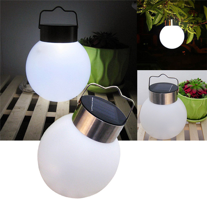 High Quality    Protable LED Outdoor Solar Power Waterproof Hanging Camping Lantern Lamp Light