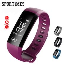 Unique R5MAX Sensible wrist Band Heartrate Blood Stress Oxygen Oximeter Sport BraceletWatch clever Fo iOS Android PK REZER