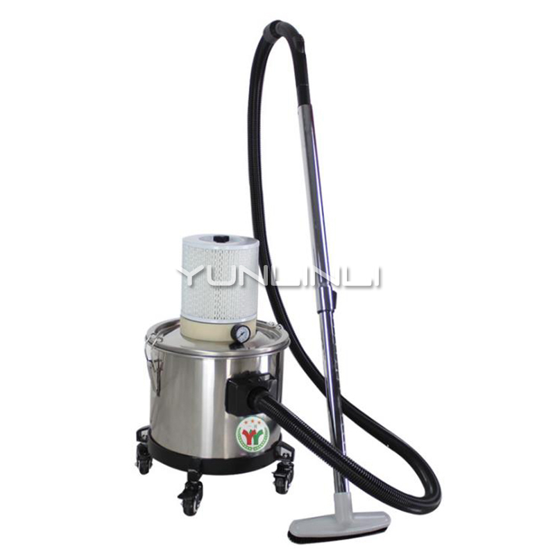 220V Pneumatic industrial vacuum cleaner 15L forth wheels vacuum cleaner AX1050|Vacuum Cleaners| |  - title=