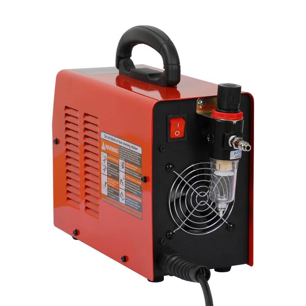 220V palnik plazmowy IGBT falownik jednofazowy maszyna do cięcia plazmowego Cut45 grubość 10mm czyste cięcie