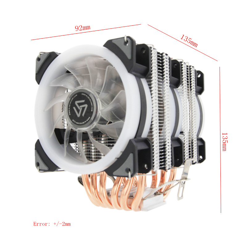 3 кулера на процессоре