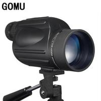 Gomu 10 30X50 HD Zooming Waterproof Telescope With Bak4 Prism FMC Monocular Telescope Brid Watch Binoculars For Hunting
