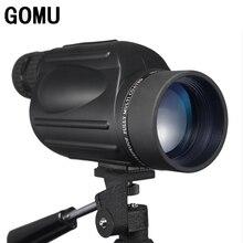 Sale New Arrival 10-30X50 HD zoom waterproof telescope FMC Monocular Telescope brid Watch binoculars for hunting free shipping