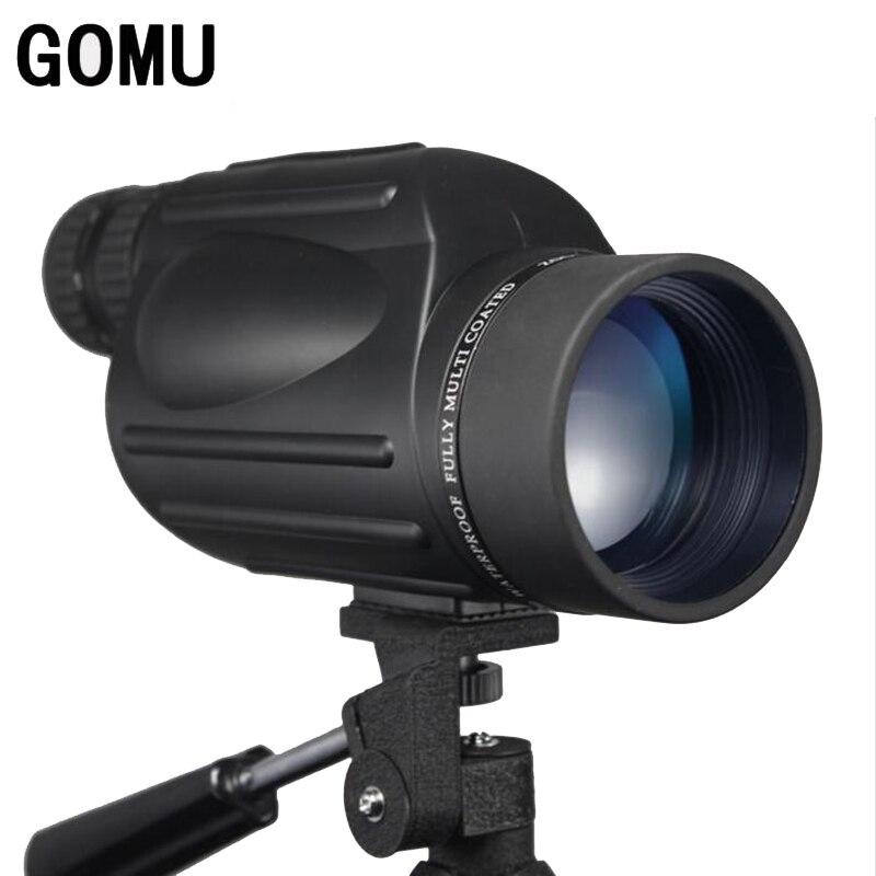 New Arrival 10-30X50 HD zoom waterproof telescope FMC Monocular Telescope brid Watch binoculars for hunting free shipping 8x zoom telescope lens back case for samsung i9100 black