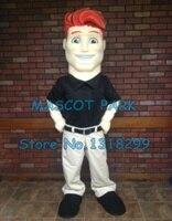 mascot red hair man mascot costume customizable cartoon mascot costume anime costumes fancy dress kits suit