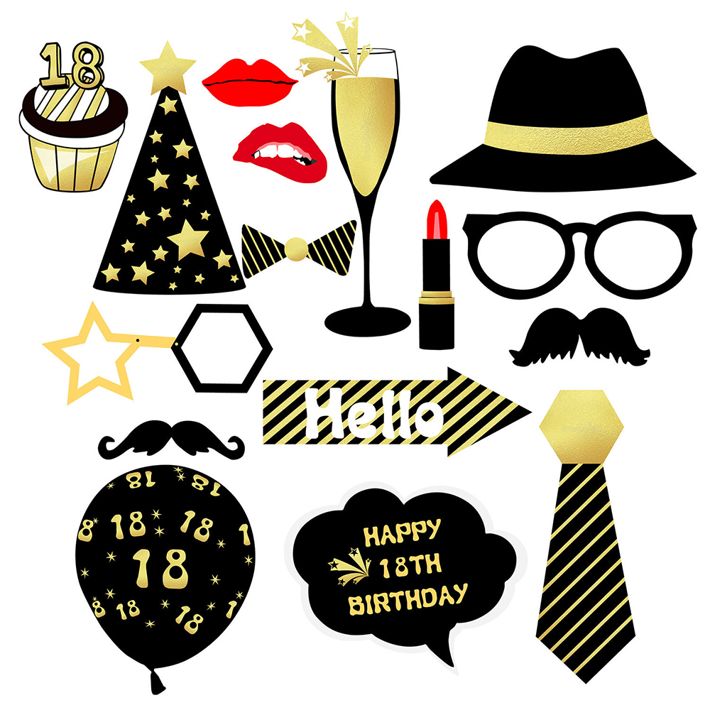 Yoriwoo 18th 30th 40th Happy Birthday Photo Booth Props Photobooth Props 30 Years Birthday Party Decorations Adult 30 40 50 60 Photobooth Props Aliexpress