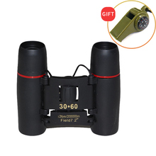 30X60 HD Binoculars Telescope 30X Magnification Wide-angle Professional Telescope Night Vision for Hunting Waterproof Telescope цена и фото
