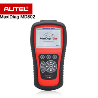 Autel MaxiDiag MD802 OBDII Scanner/Diagnostic Tool 100% Original For Engine/Transmission/ABS/SRS/Oil Reset OBD II 6 Mode etc.