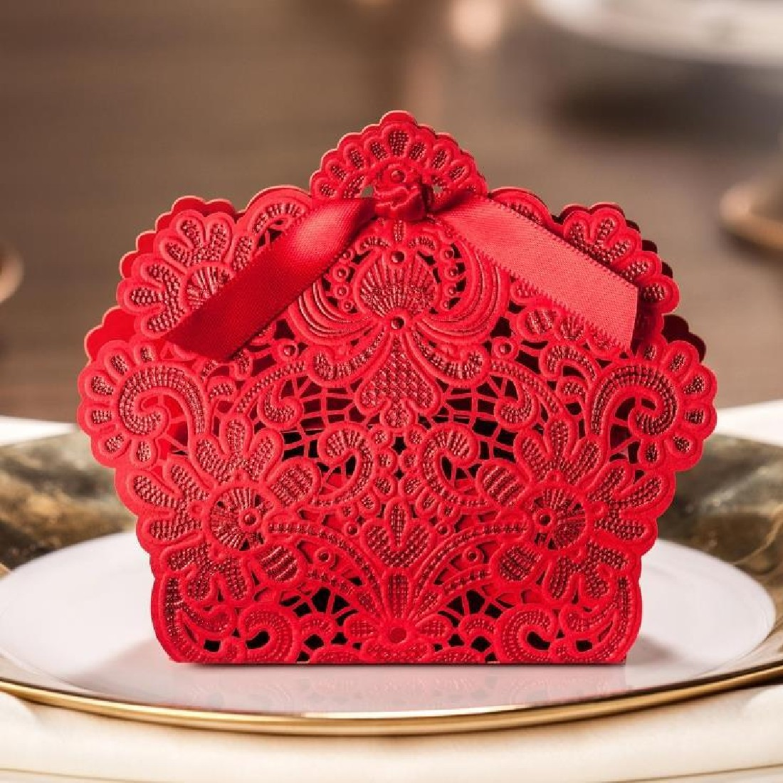 Online Buy Wholesale red favor box from China red favor box ...