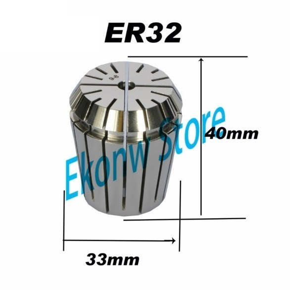 Free Shipping 1PCS 1-20mm ER ER32 Collet Chuck for Spindle Motor Engraving/Grinding/Milling/Boring/Drilling/Tapping
