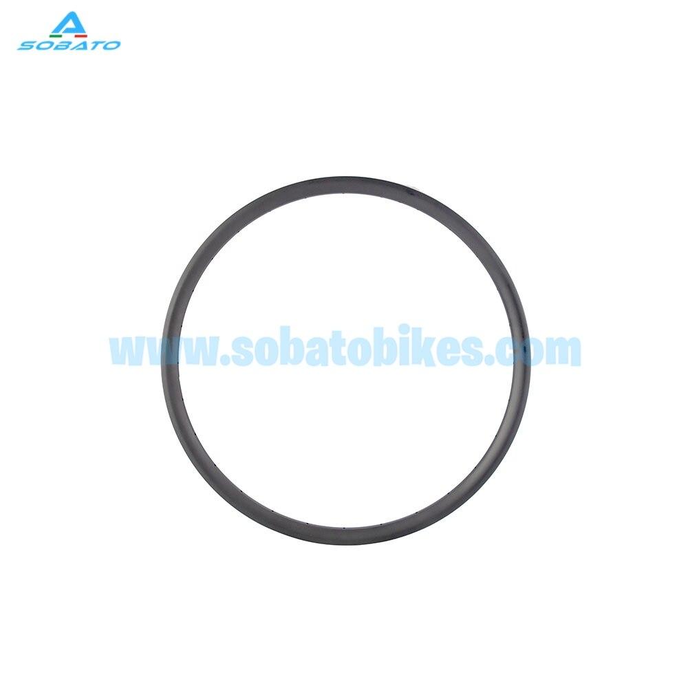 MTB carbon rim 650B 27.5er 25mm depth 35mm width Clincher rims for MTB bike wheel fast shipping