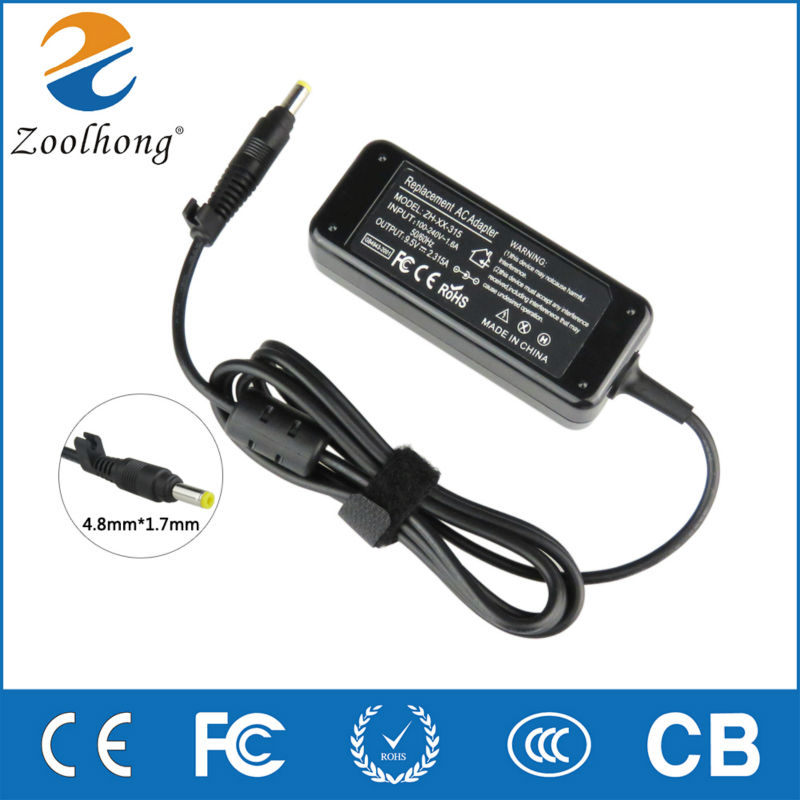 9.5V 2.315A Zoolhong Original AC Adapter for ASUS Power Adapter 4.8mm*1.7mm