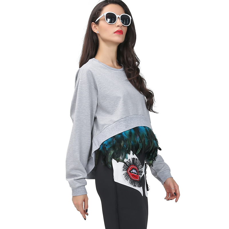 Buy twotwinstyle spring attachable feather extra long sleeves oversized for Extra long dress shirts