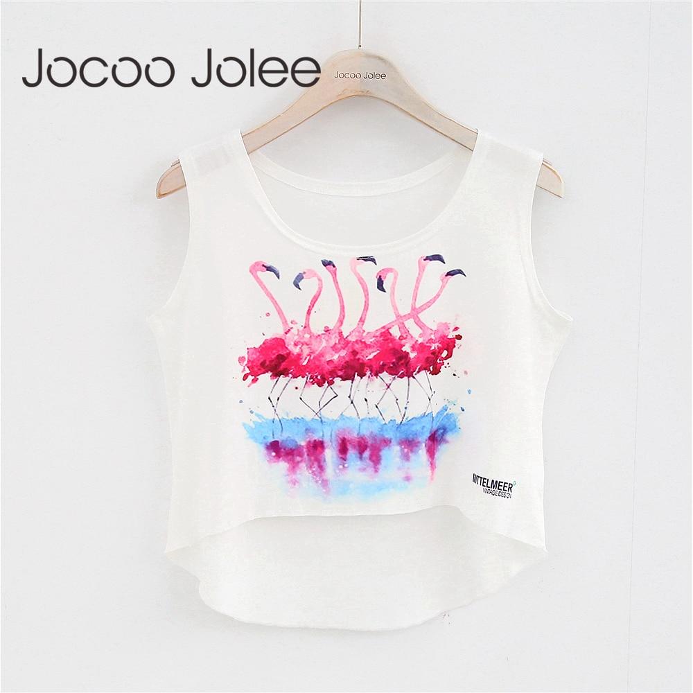 Jocoo Jolee Casual Appliques Women Tank Tops Letter Print Sporting Fitness Vest Sleeveless Crop Top O Neck 2018 Spring&Summer|Tank Tops|   - AliExpress
