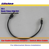 For Mazda Tribute 2008 2011 Car Radio Antenna Adapter Aftermarket Stereo Antenna Wire Switch Cable Standard