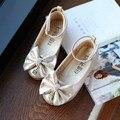 Los niños zapatos de baile niñas zapatos 2016 nuevo verano moda noble sandalias de las muchachas del diseño individuales princesa zapatos sandalias de las muchachas