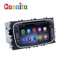 Car 2 din Android 7.1 DVD player GPS For FORD Mondeo Focus S Max C Max Galaxy Fusion Car radio 2Gb Ram+32Gb Rom Quad core