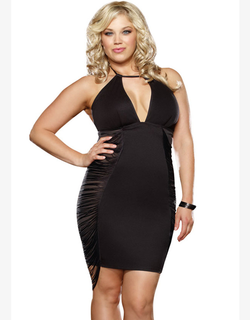 Aliexpress Buy Big Sizes Sexy 2xl Backless Mini Club Dress Hot