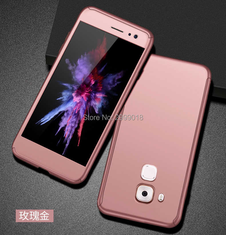 Роскошные 360 Полное покрытие чехол для телефона для huawei G8 GX8 RIO-L01 RIO-L02 RIO-L03 чехол Защитная крышка с Стекло для huawei G8 GX8