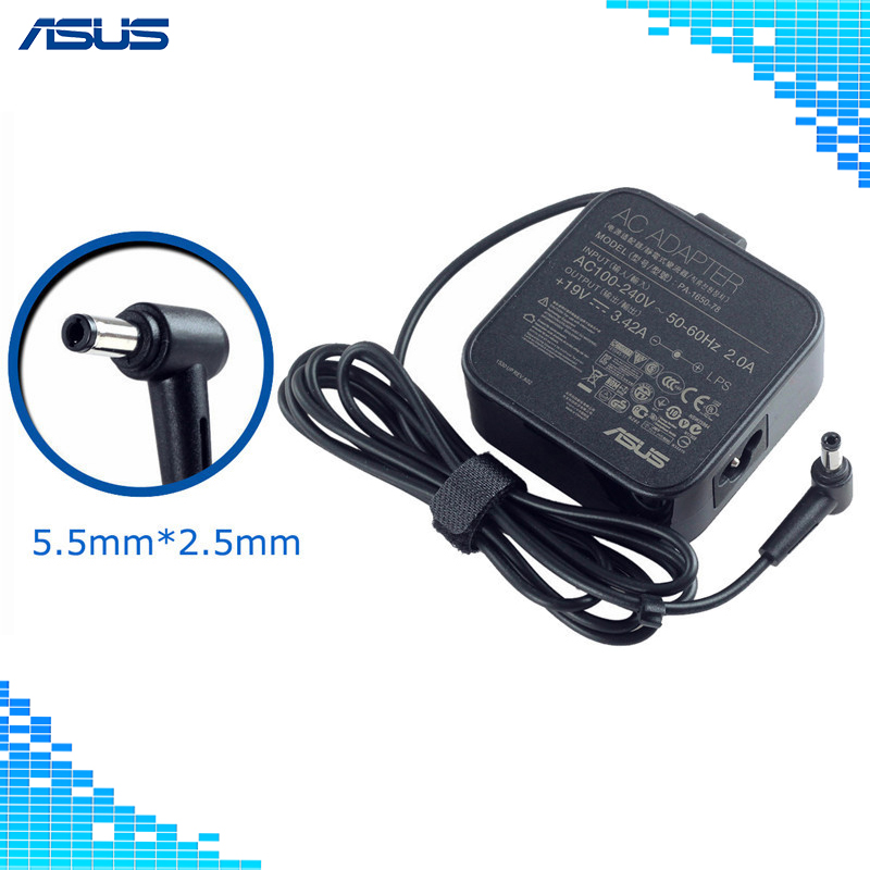 For Asus Laptop Adapter 19V 3.42A 65W 5.5*2.5mm PA-1650-78 A