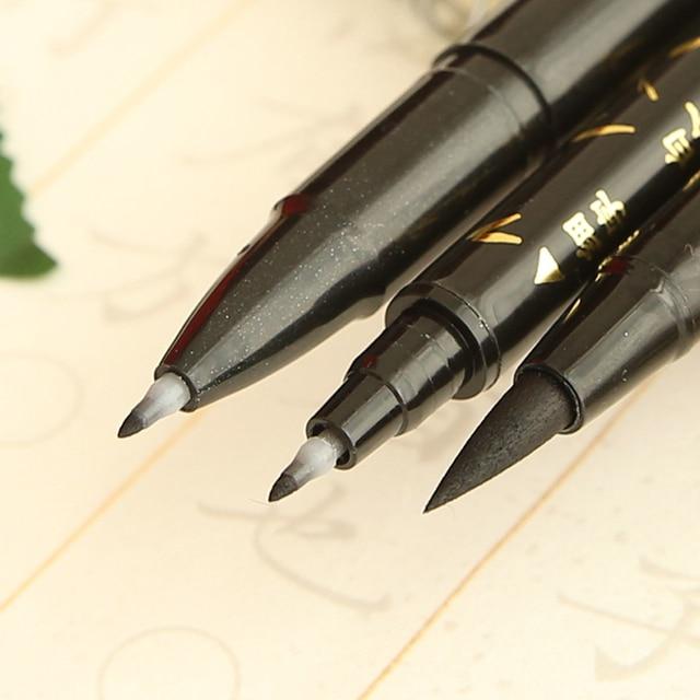 3 Types Calligraphy Brush Pen To Choose Soft Brush Felt Tips Pens