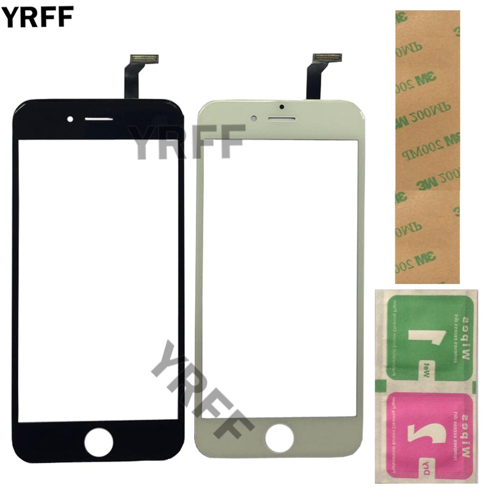 Mobile Touch Screen Panel For IPhone 6 6G 5 5S 5C 4S 4 Touch Screen Digitizer Front Glass Sensor For IPhone 6 Plus TouchScreen