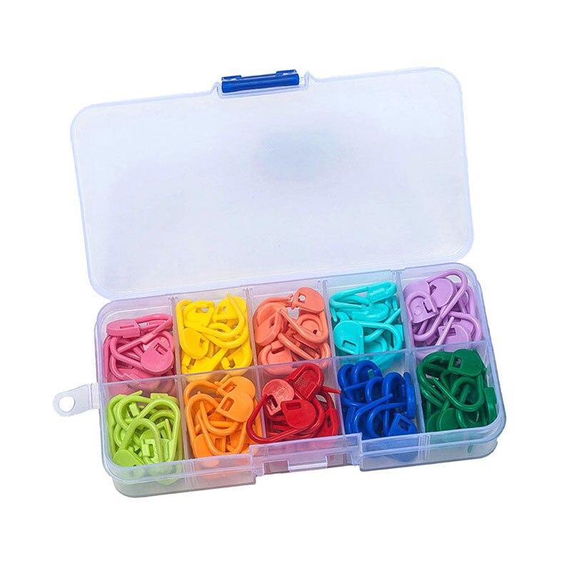 120 Pcs/Set Amazing Knitting Crochet Locking Stitch Needle Clip Markers Holder Tool Plastic  Hot Sale