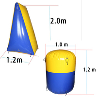 Archery CS battle bow and arrow shooting combat group game 0.6mm PVC Tarpaulin inflatable bunkers outdoor sports gear