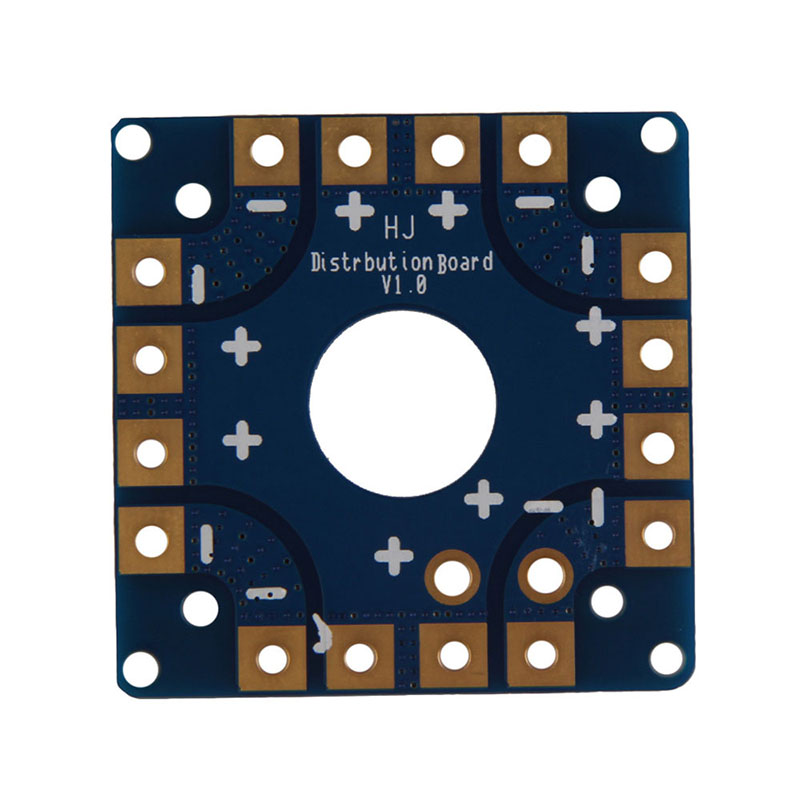 5cm Multi Copter ESC Power font b Battery b font Connection Board for RC KK Quadcopter