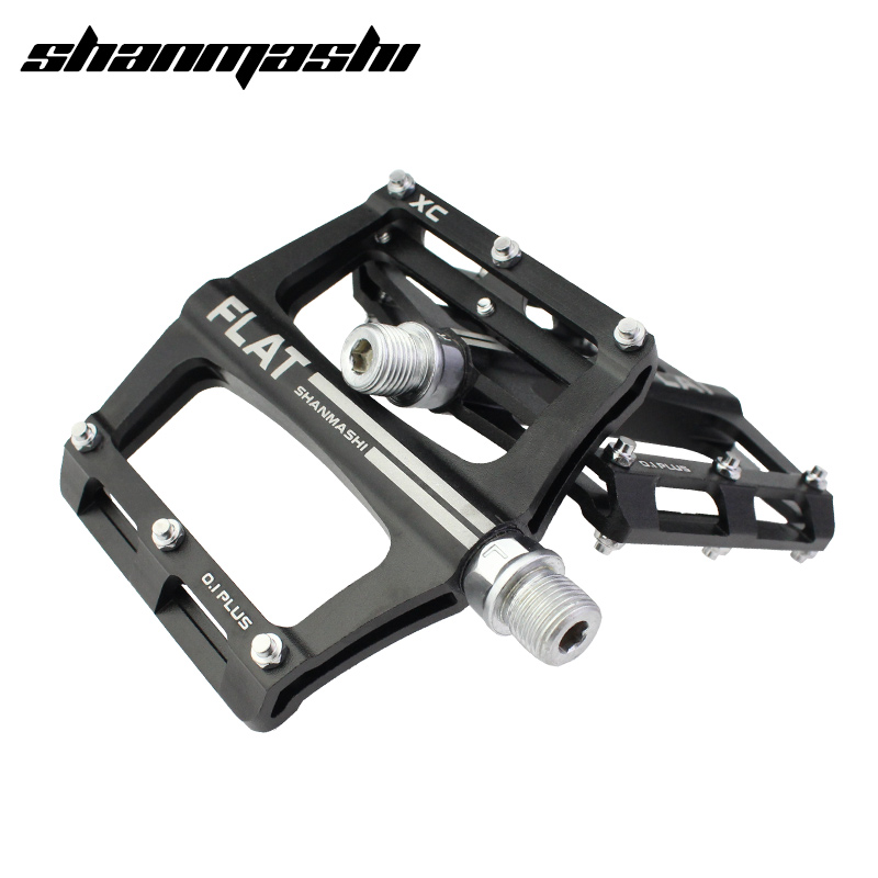 SMS Bicycle Pedal Aluminum Alloy Lightweight Road Bike MTB Parts Pedals Bearing Fixed Gear Riding Pedal Cycling Non-slip Pedals aest yrpd 07t lightweight aluminum magnesium alloy bicycle bike pedals blue 2 pcs