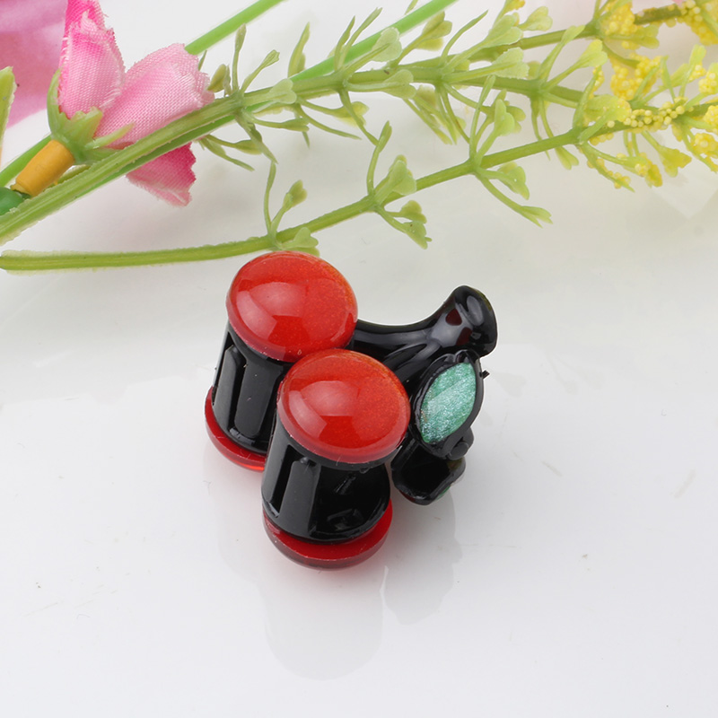 M MISM Red Cherry Hairgrip For Children Girls Cute Hairpin Hair Accessories Ornaments Small Hair Claw Kids Hair Clip