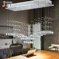 T Роскошные модные креативные кристалл потолочный светильник простые Прямоугольные светодиодный лампы для бар домашнего освещения коридо
