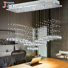 T Luxury Fashion Creative Crystal Ceiling Light Rectangular Simple LED Lamps For Bar Home Lighting Corridor Modern DHL Free t simple crystal fashion pendant light for dinging room home indoor lighting modern creative led chip lamps bar coffee shop