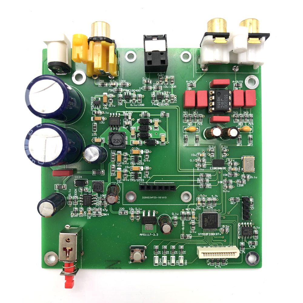 Operational Amplifier Chips Es9038 Q2m I2s Dsd Optical Coaxial Input Decoder Usb Dac Headphone Output Hifi Audio Amplifier Board Module Street Price Accessories & Parts