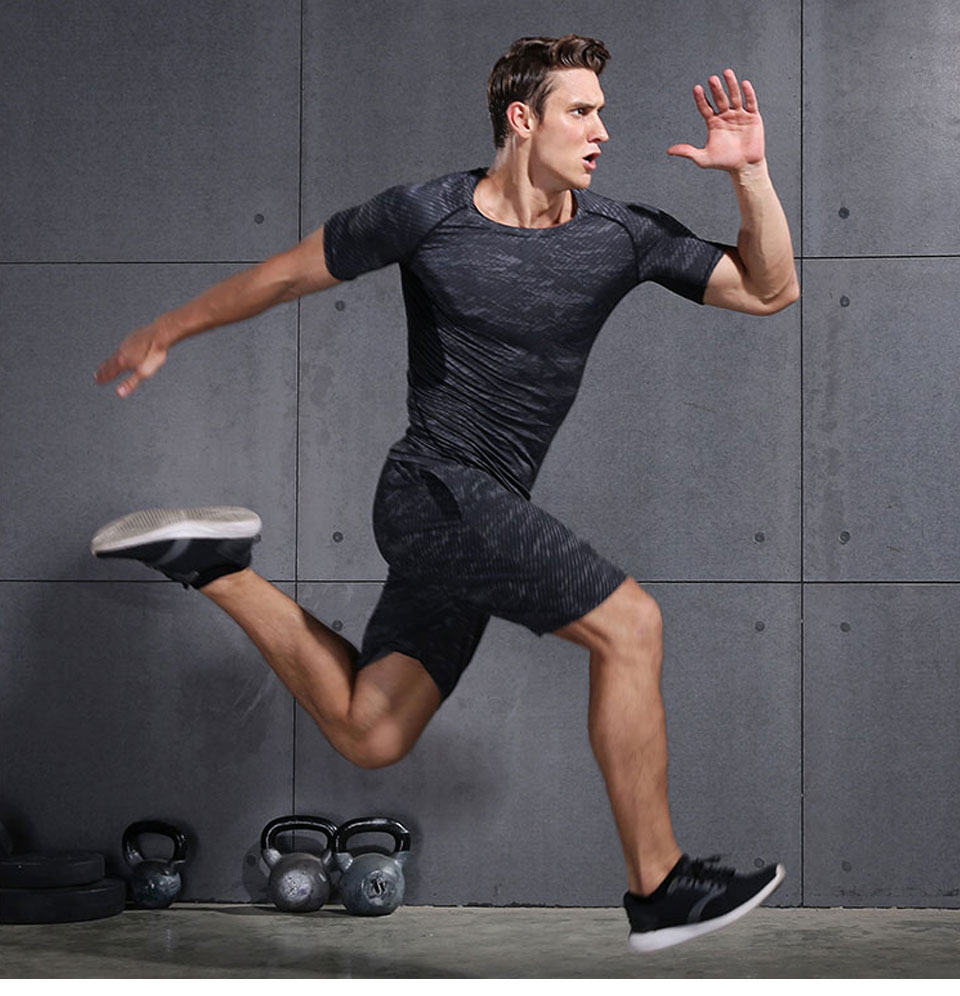 VANSYDICAL Running Shorts Men Sport Mens Marathon Gym Shorts Quick Dry Training Soccer Tennis Workout GYM Shorts Tenis Masculino 18