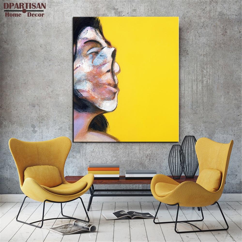 DPARTISAN Bacon Portrait Henrietta Moraes Wall painting print on ...